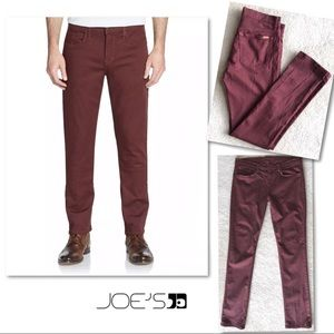 Joe's Jeans Jeans - JOE'S JEANS SLIM FIT RED SEA MENS JEANS 33 x 34